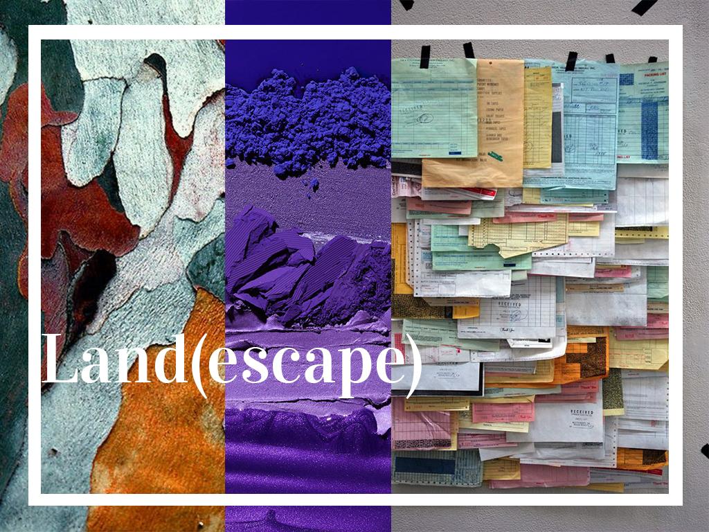 Land(escape), une collection aux paysages abstraits